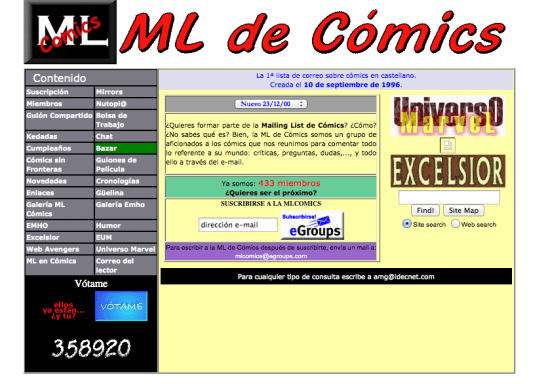 ML de Cómics