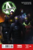 Portada Avengers Undercover #4