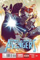 Portada Uncanny Avengers #21