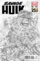Portada alternativa Savage Hulk #1