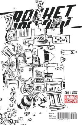 Portada alternativa Rocket Raccoon #1