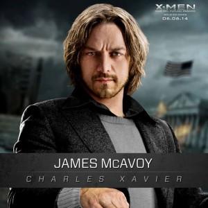 james mcavoy - profesor xavier