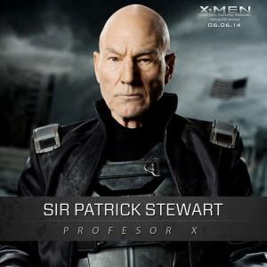 patrick stewart - profesor xavier