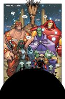 100Th Anniversary Guardians of the Galaxy #1 Prev1