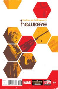 HawkEye #19 Cover