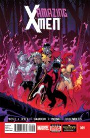 Portada Amazing X-Men #9