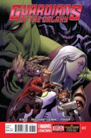 Portada Guardians of the Galaxy #17