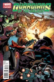 Portada alternativa Guardians of the Galaxy #17