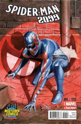 Spider-Man 2099 #1 Alternativa 4