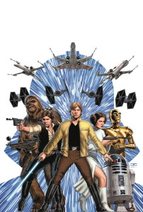 Portada de Star Wars 1, a cargo de John Cassaday