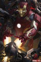 Iron Man en una imagen promocional de Los Vengadores: La era de Ultrón