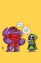 Portada alternativa de Young para Avengers & X-Men: AXIS 1