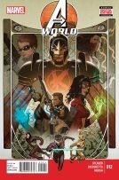 Portada Avengers World #12