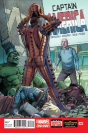Portada Captain America #23
