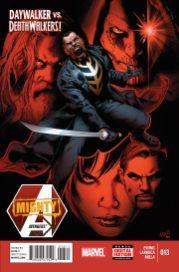Portada Mighty Avengers #13