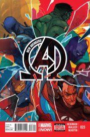 Portada New Avengers #23