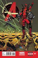 Portada Secret Avengers #7