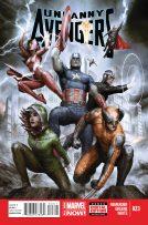 Portada Uncanny Avengers #23