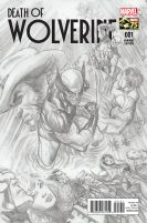 Portada alternativa Death of Wolverine #1