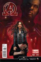 Portada alternativa New Avengers #22
