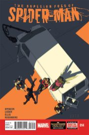 SUPERIOR FOES OF SPIDER-MAN #14 Portada