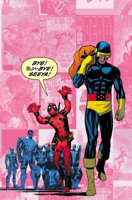 Dibujo de Mike McKone para la portada alternativa de Uncanny X-Men 27
