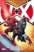 100% Marvel. V+X: Los Vengadores + La Patrulla-X 3 (Panini)