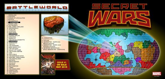 Mapa del Mundo de batalla