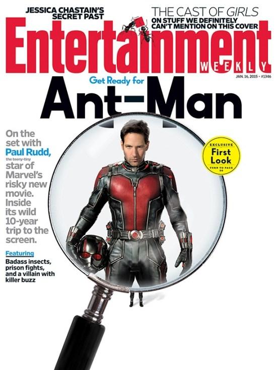 Entertainmente Weekly lleva a portada la película de Ant-Man