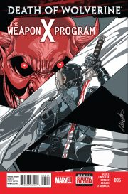 Death of Wolverine The Weapon X Program 5 1