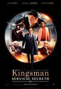 Cartel español de Kingsman. Servicio Secreto