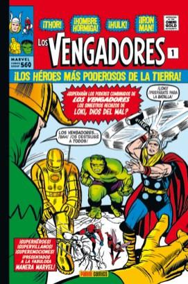 Marvel Gold. Los Vengadores 1 (Panini)