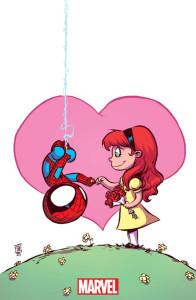 Amazing Spider-Man- Renew Your Vows #1, portada alternativa a cargo de Skottie Young