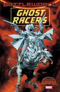 Ghost Racers #1, portada alternativa a cargo de Dan Panosian