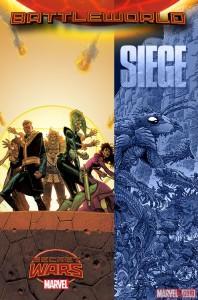 Portada del número 1 de Siege - Secret Wars