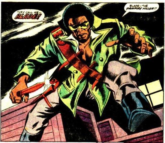 La impresionante primera aparición de Blade
