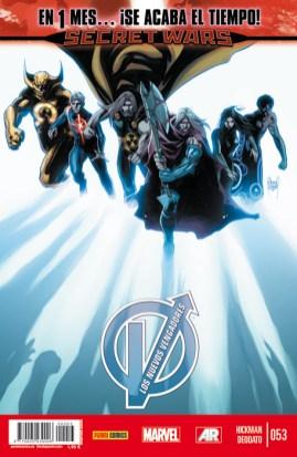 Los Nuevos Vengadores v2, 53 (Panini)