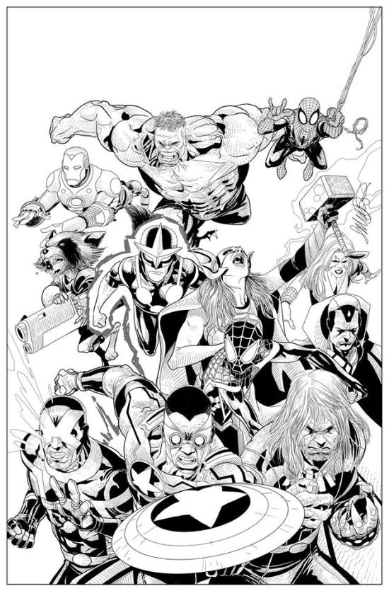 tinta secret wars 1