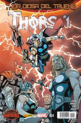 Thor: Diosa del Trueno 54 (Panini)