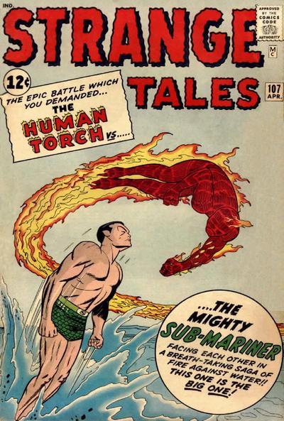 Strange Tales 107