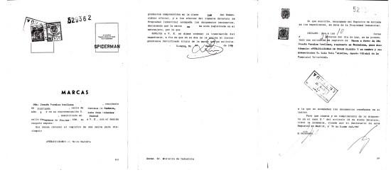 M0529362. SPIDERMAN040506. Solicitud.1000