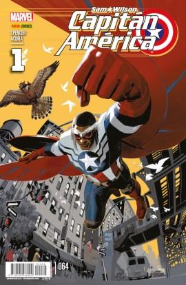 Sam Wilson: Capitán América 64 (Panini)