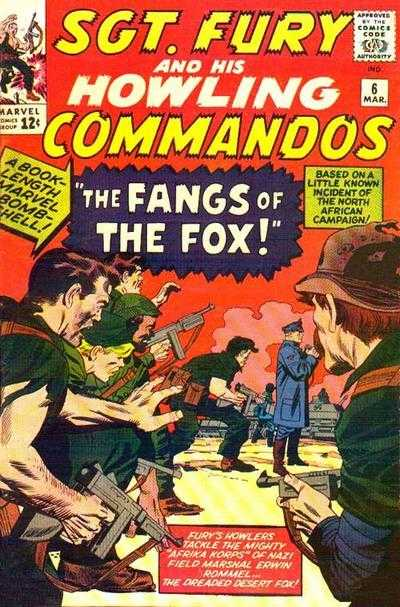 Sgt. Fury and his Howling Commandos 6