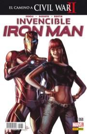 Invencible Iron Man 68 (Panini)