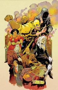 POWER MAN AND IRON FIST #10 - Greene