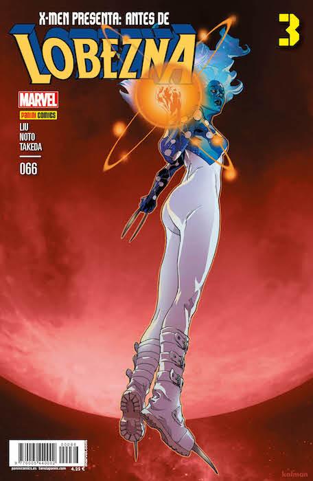 X-Men Presenta 66. Antes de Lobezna 3 (Panini)