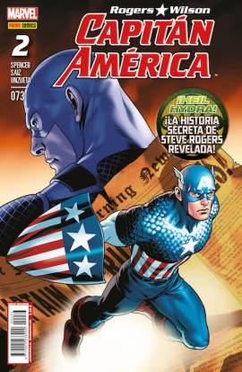 Rogers - Wilson: Capitán América 73 (Panini)