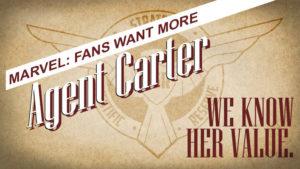 marvel fans agent carter