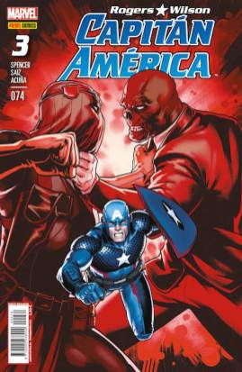 Rogers - Wilson: Capitán América 74 (3) (Panini)