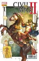 Civil War II 1 (Portada Alternativa 3) (Panini)